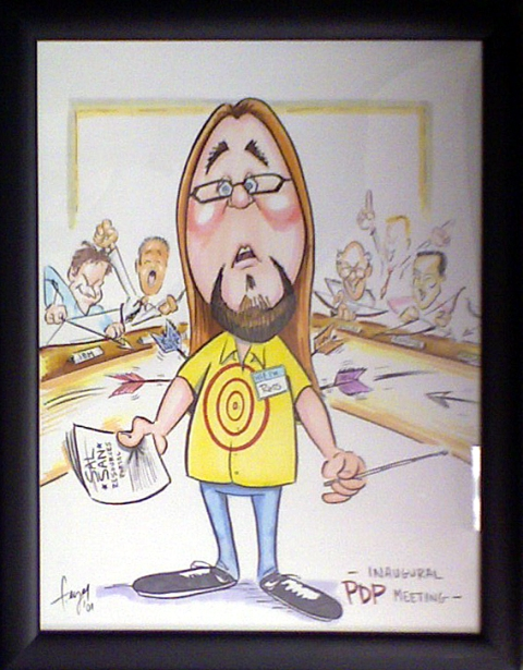Ross Caricature