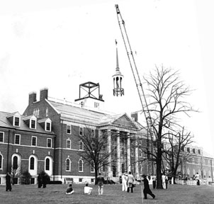 Glenmary Seminary: Placing Tower